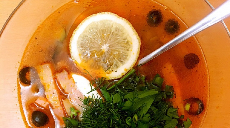 солянка, рецепт солянки, домашняя солянка