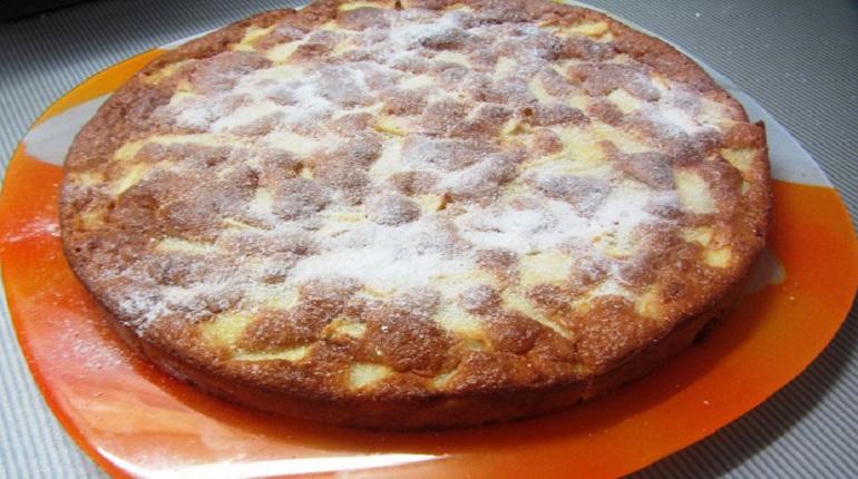 пирог, шарлотка, десерт