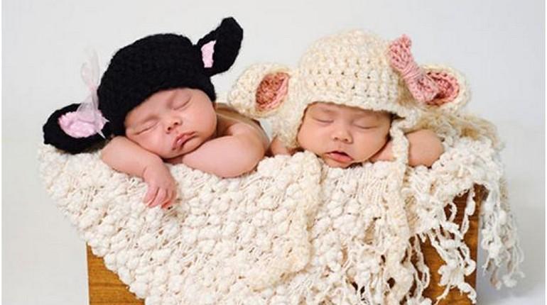 Малыши спят, детки устали, результат успешного ЭКО
