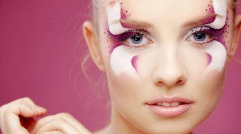 макияж авангардный