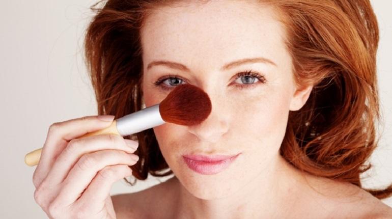 макияж для носа