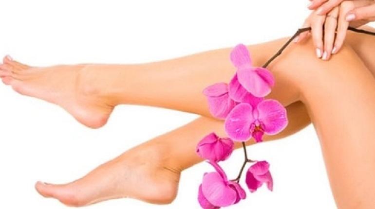гладкая кожа ног