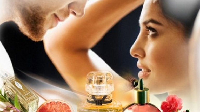 парфюм, мужчина, женщина