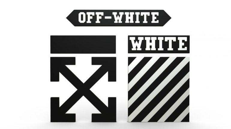 Эмблема бренда Офф-Вайт
