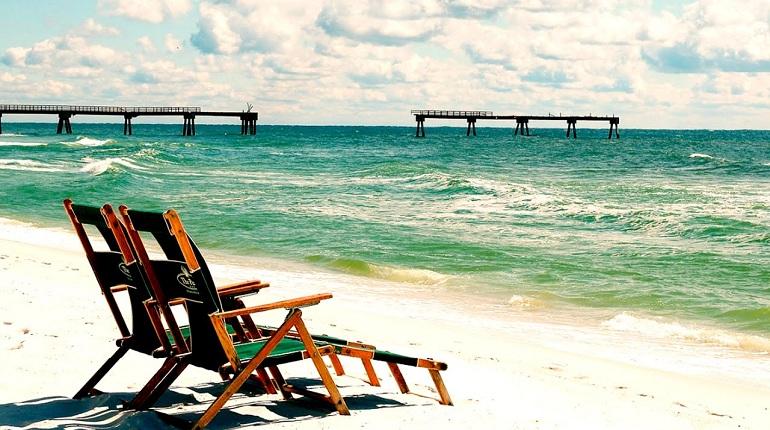 Релакс, море, пляж, абстрагироваться