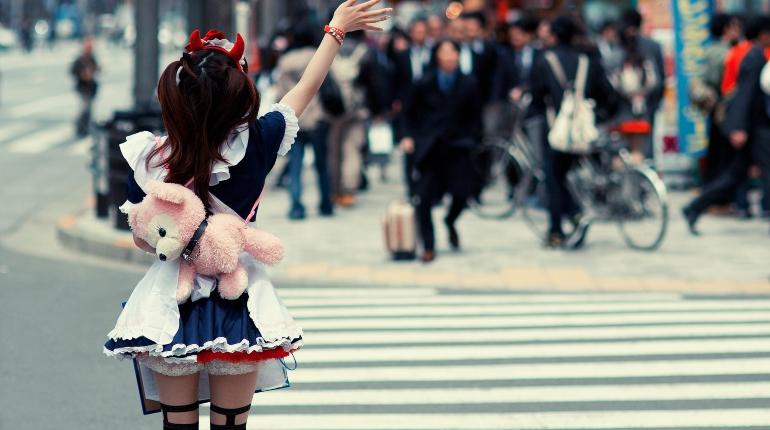Фетиш-мода Япония