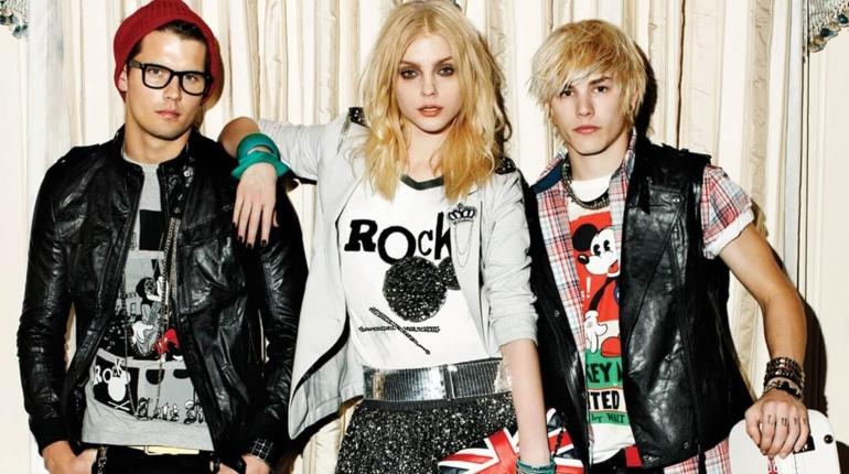одежда в стиле глэм-рок