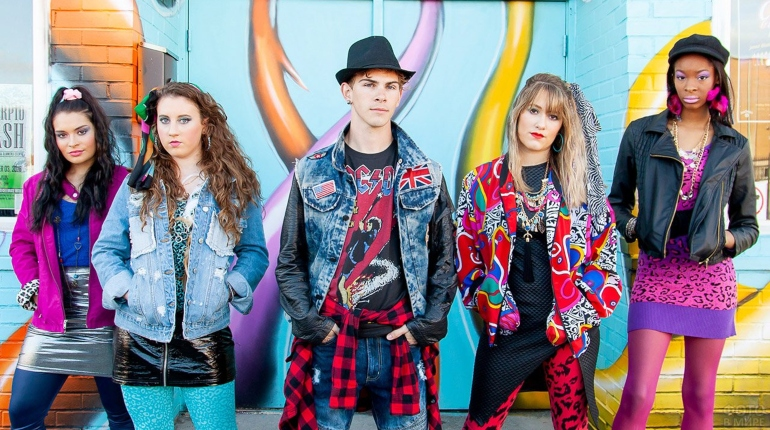 стиль диско, мода 80-х