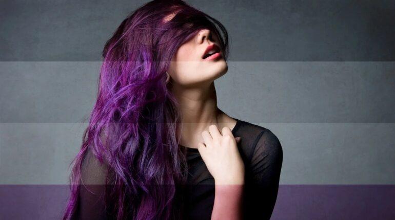 цветовая символика асексуальности