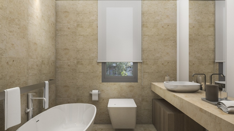 фэншуй, ванная комната