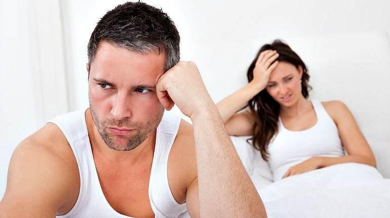 проблемы в сексе, семейная пара, разногласия в паре