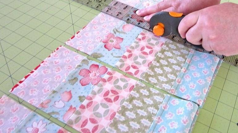 узоры на ткани, практичное хобби