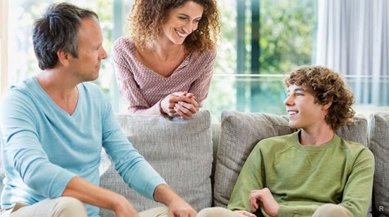 разговор с родителями, семья