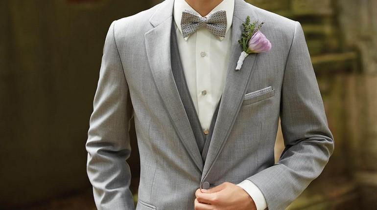 парень в красивом костюме, свадебный костюм
