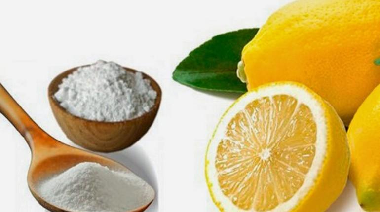 лимон и сода, натуральные средства для уборки дома