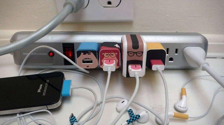 провода и кабели, интересное решение для кабелей в квартире и офисе