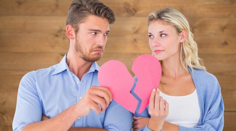 разбитое сердце, разрыв отношений