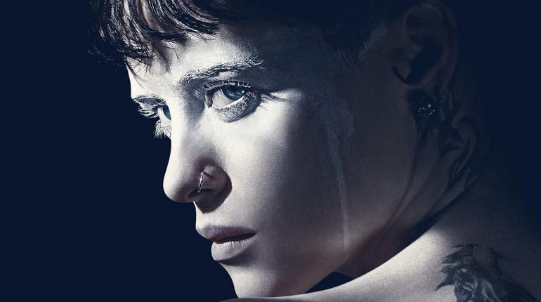 девушка нестандартной внешности, лицо девушки с пирсингом