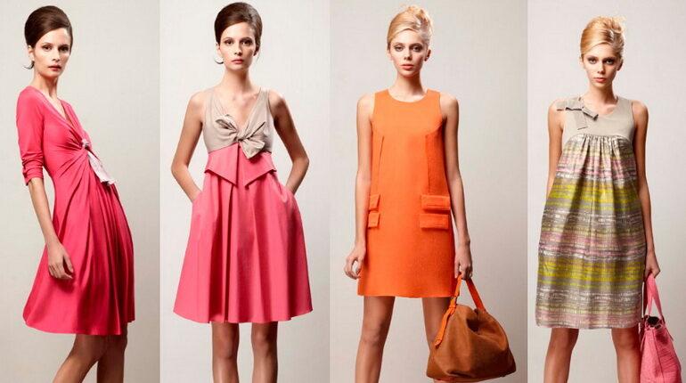 ретро стиль, платье ретро, девушки в платьях стиля ретро