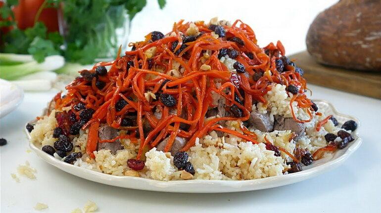 плов, афганский плов. плов кабули, блюда из риса
