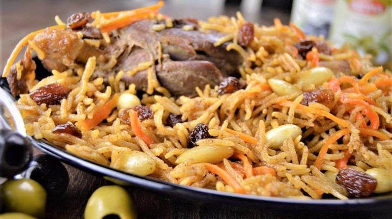 блюда из риса, плов по-афгански, плов кабули