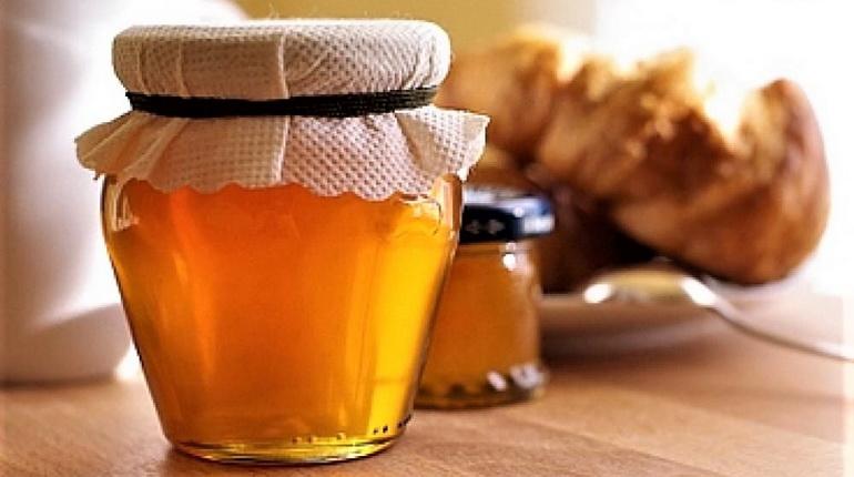 мед в банке, мед жидкий, мед