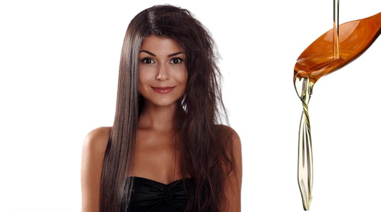 глицерин для волос, если волосы пушатся, маска для волос