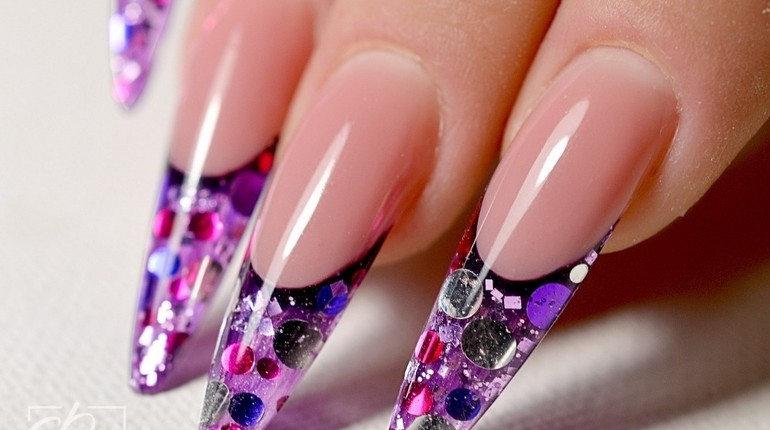 ногти с изысканным дизайном