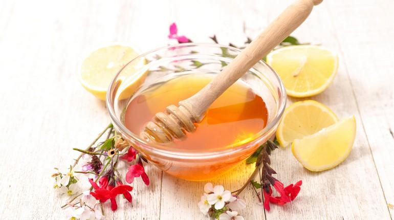 мед с лимоном, средство от повышенного давления, природные средства лечения гипертонии
