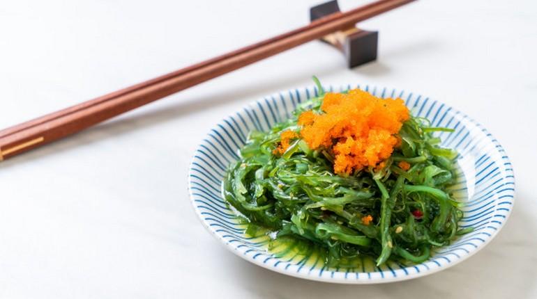 морские водоросли, японская кухня, морепродукты для профилактики дефицита йода