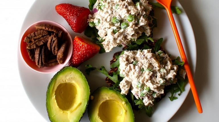 бутерброды с авокадо на завтрак, правильный завтрак, питание для красоты и здоровья