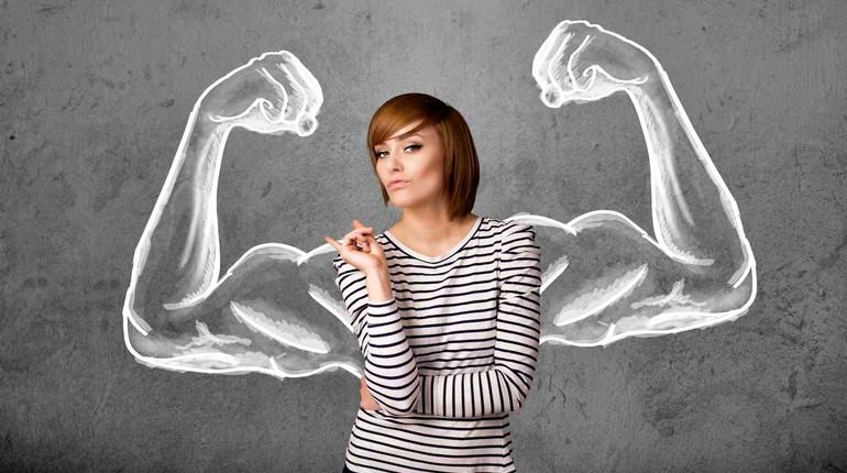 сильная женщина, женщина без мужчины