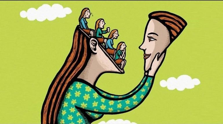 девушка невротик, невротическая личность